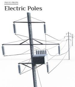Photo Props: Electic Poles