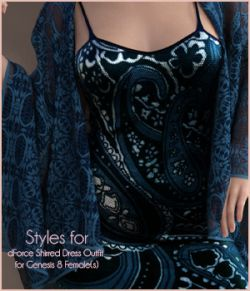 Styles for Shirred Dress