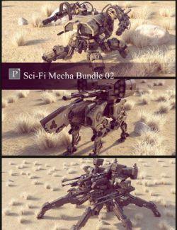 Sci-Fi Mecha Bundle 02