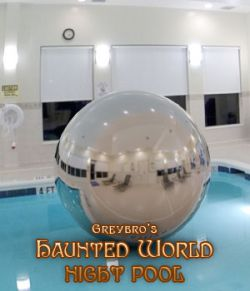 Greybro's Haunted World - Night Pool Dusk HDRI