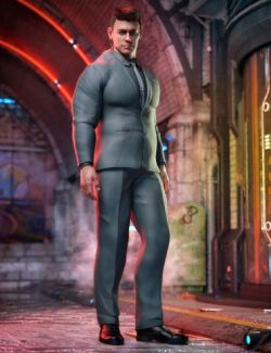 Bouncer Outfit for Dain 8 and Genesis 8 Male(s)