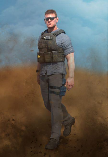 Mercenary Outfit Textures
