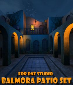 Balmora patio set for Daz Studio
