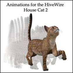 Animations for the HiveWire House Cat 2
