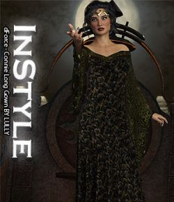 InStyle- dForce- Connie Long Gown