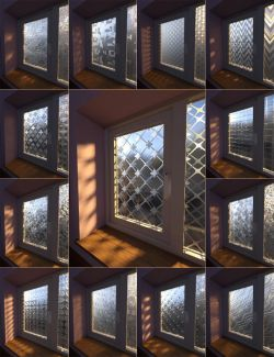 Privacy Glass Iray Shaders