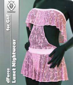 JMR dForce Lunet Nightwear for G8F