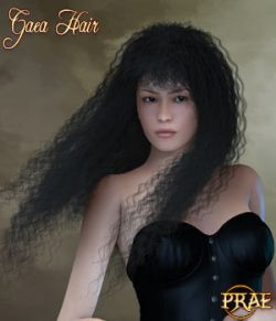 Prae-Gaea Hair For Poser