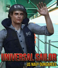 Universal Sailor- US Navy Dungarees