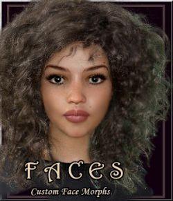 Faces - 6 Custom Morphs