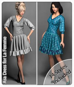 Asa Dress for La Femme