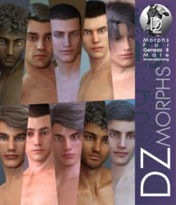 DZ G8M Men Of DZheng Head Morphs 2