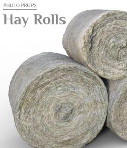 Photo Props: Hay Rolls