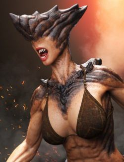 Uber Demoness HD for Genesis 8 Female