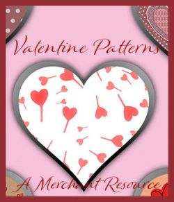Seamless Valentine Patterns