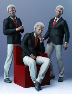 CDI Poses for Leroy 8 and Genesis 8 Male