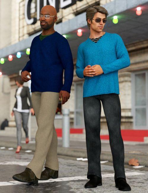 dForce Winston Avenue Outfit Textures