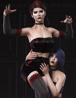 Inmortal Queen Poses for Genesis 8 Female