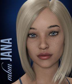 MbM Jana for Genesis 3 and 8 Female