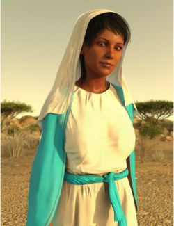 dForce Middle Eastern Outfit for Genesis 8 Female(s)