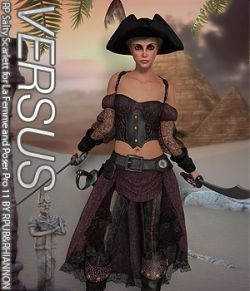 VERSUS- RP Salty Scarlett for La Femme and Poser Pro 11