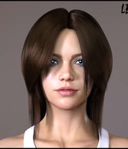 LB Hair for Genesis 8 Female