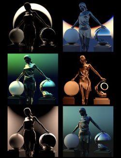 Fantasy and SciFi Fast Render Lights