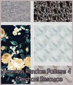 Seamless Random Patterns 4 - Merchant Resource