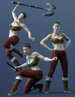 CDI Poses for CJ 8 and Genesis 8 Female