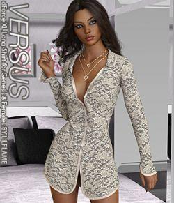 VERSUS - dForce XL Long Shirt for Genesis 8 Females