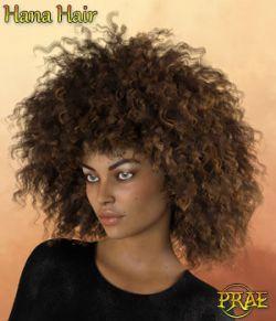Prae-Hana Hair G8 Daz