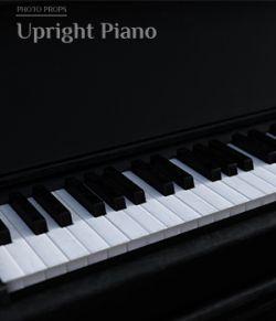 Photo Props: Upright Piano