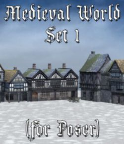 Medieval World Set 1 for Poser