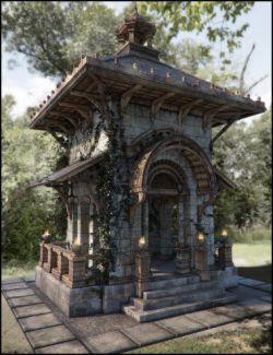 Pavilion of Montchanin Fallen Iray Addon