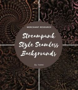 12 Steampunk Style Backgrounds
