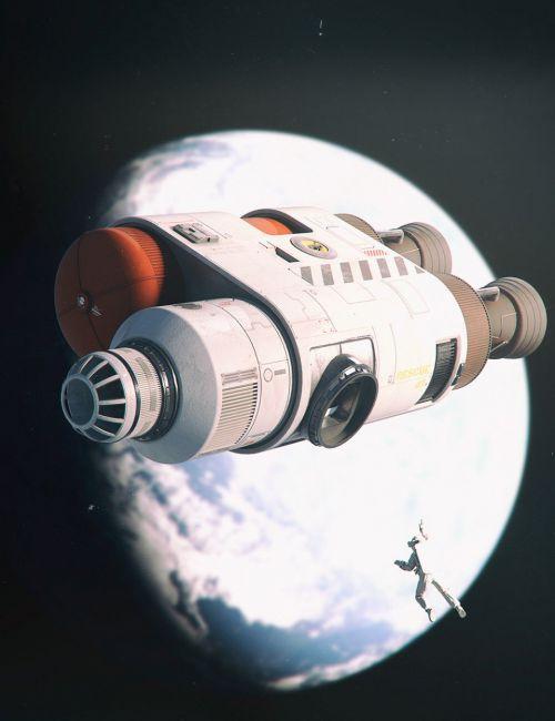 Sci-Fi Rescue Module