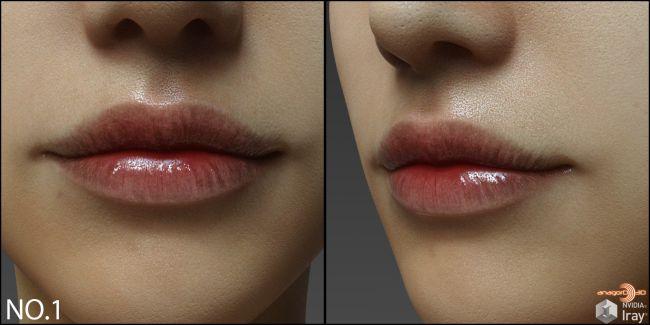 Lips Morphs for G8F Vol 5