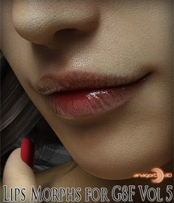 Lips Morphs for G8F Vol 5