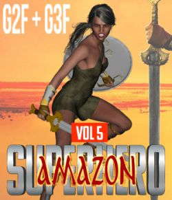 SuperHero Amazon for G2F and G3F Volume 5