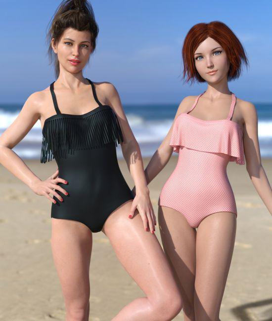 Frill n' Fringe Swimsuit for G8F