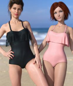 Frill n' Fringe Swimsuit for G8F