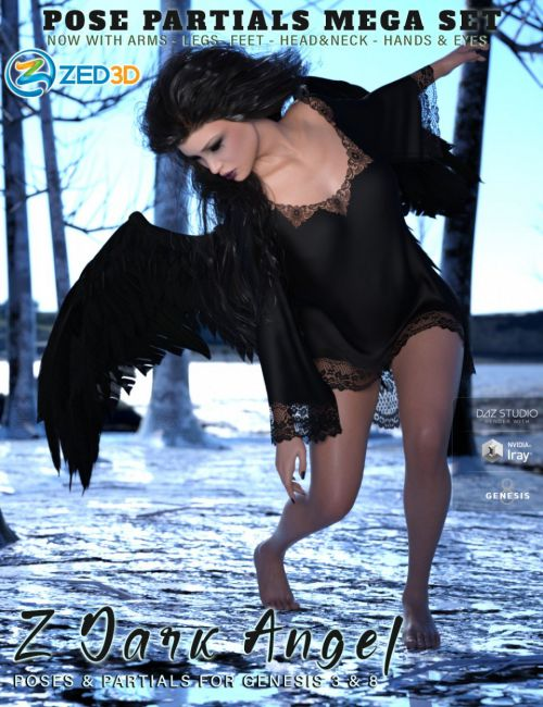 Z Dark Angel Pose Mega Set