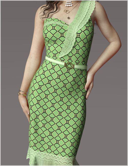 Elegance For dForce Nola Cocktail Dress