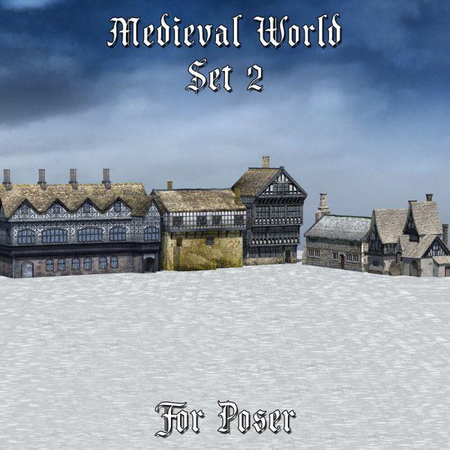 Medieval World Set 2 for Poser