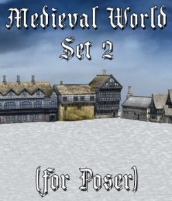 Medieval World Set 2 for Poser