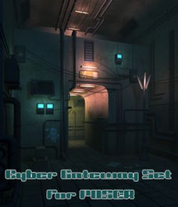 Cyber Gateway Set for Poser