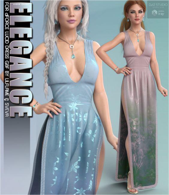 Elegance for dForce Lucid Dress