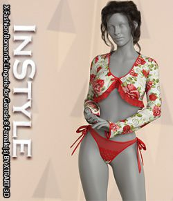 InStyle- X-Fashion Romantic Lingerie for Genesis 8 Female(s)