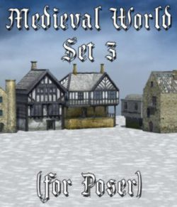 Medieval World Set 3 for Poser