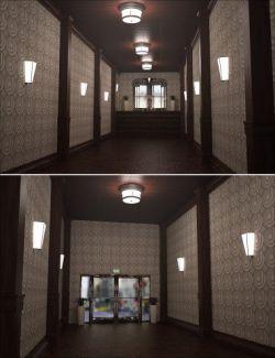 Retro Hallway
